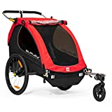 Burley Unisex MY16 2-Seater Bike, Honeybee Red