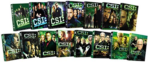 CSI: Crime Scene Investigation - Fifteen Ssn Pack DVD