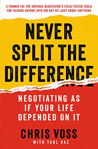 594. Never Split the Difference: Negotiating As If Your Life Depended On It