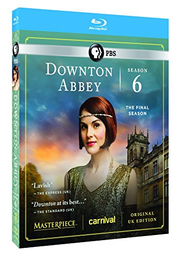 Masterpiece: Downton Abbey Season 6 [Blu-ray] DVD