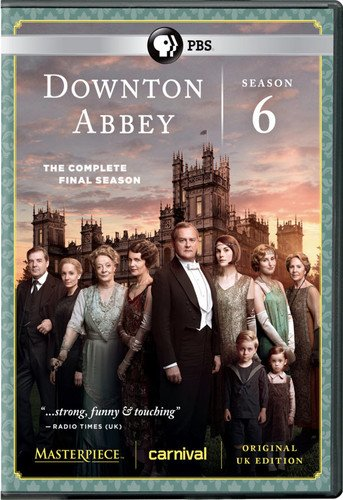 Masterpiece: Downton Abbey Season 6 DVD