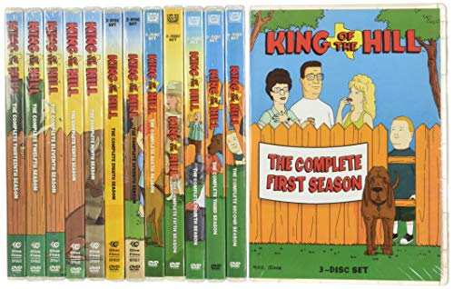 King of the Hill: Season 13 DVD
