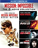 Mission: Impossible 5-Movie Collection (Blu-ray + Digital HD) - December 15
