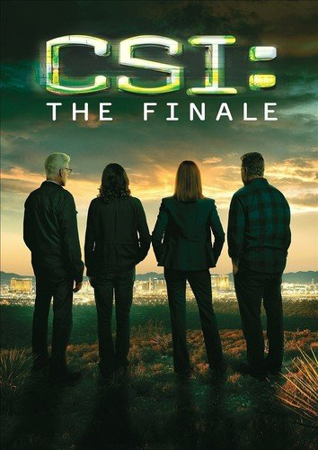 CSI: Crime Scene Investigation - The Final CSI DVD