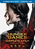 The Hunger Games: Complete 4-Film Collection (6-Disc Blu-ray + Digital HD) - March 22