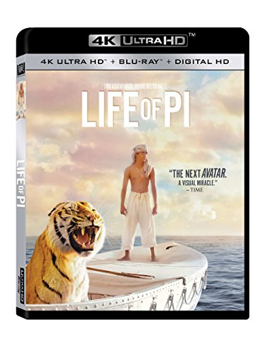 Life of Pi [4K UHD] [Blu-ray] DVD