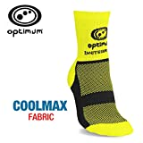 Optimum Men's Nitebrite Hi-Viz Winter Cycling Socks