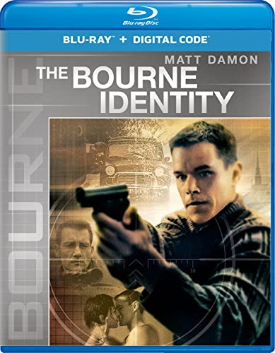 The Bourne Identity [Blu-ray] DVD