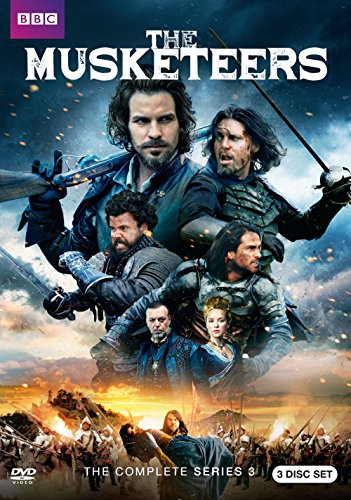 The Musketeers: Season 3 DVD