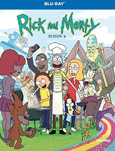 Rick and Morty: The Complete Second Season  DVD