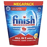 Product Image of Finish All in One Lemon Sparkle - Pack of 72