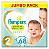 Product Image of Pampers New Baby Size 2 Mini 3-6kg/6-13lbs Jumbo Pack...