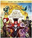 Alice Through the Looking Glass (Blu-ray + DVD + Digital HD) - October 18