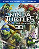 Teenage Mutant Ninja Turtles: Out of the Shadows (Blu-ray 3D + Blu-ray + DVD + Digital HD) - September 20