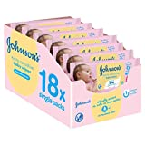 Product Image of Johnson's Baby Extra Sensitive Fragrance Free Wipes - Pack...