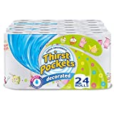 Product Image of Thirst Pockets Decorated Kitchen Towels Rolls - Pack of 3,...