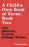 A Child's Own Book of Verse: Book Two