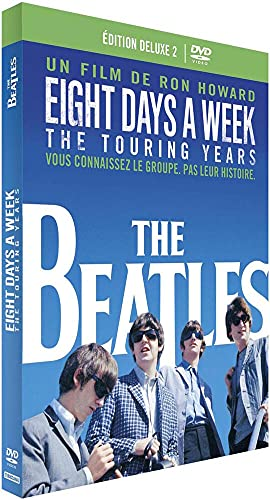 The Beatles: Eight Days A Week - The Touring Years [+ 1 Livre] [Édition Deluxe - 2 DVD + livre]