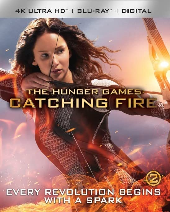 Catching Fire [4K Ultra HD + Blu-ray + Digital HD] DVD