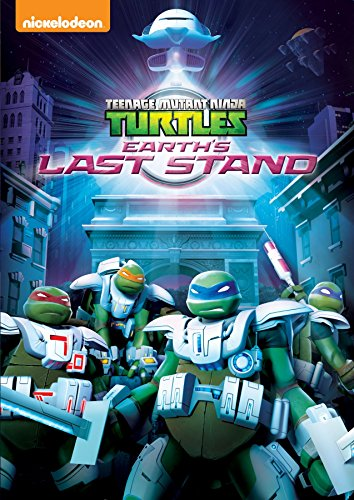 Teenage Mutant Ninja Turtles: Earth's Last Stand DVD