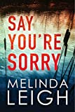 Say You're Sorry (Morgan Dane Book 1)