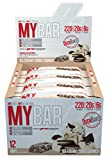 Product Image of ProSupps My Bar Ice Cream Cookie Crunch, 55 g, Pack of 12