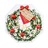 Product Image of Pack Of 24 Wreath Advent Christmas Scented Tea Light...