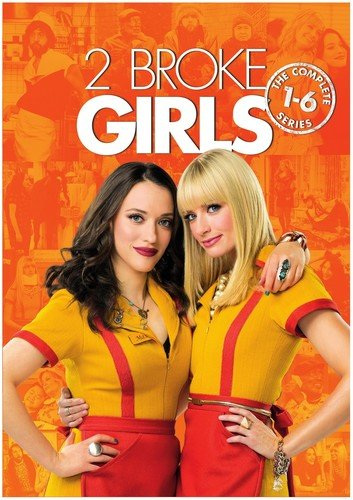 2 Broke Girls: The Complete Series  DVD