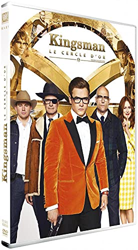 Kingsman - Le cercle d'or - 1 DVD [DVD + Digital HD]