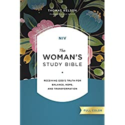 NIV, The Woman's Study Bible, Full-Color: Receiving God's Truth for Balance, Hope, and Transformation