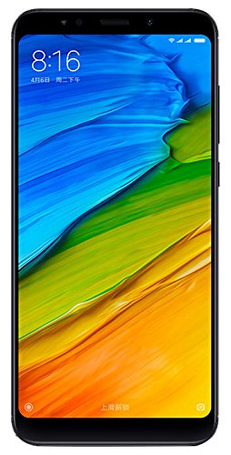 XIAOMI REDMI 5 Plus Dual SIM Black (5.99'' - 4/64GB)