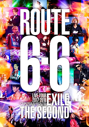 "EXILE THE SECOND LIVE TOUR 2017-2018""ROUTE 6・6""(DVD2枚組)(通常盤)"