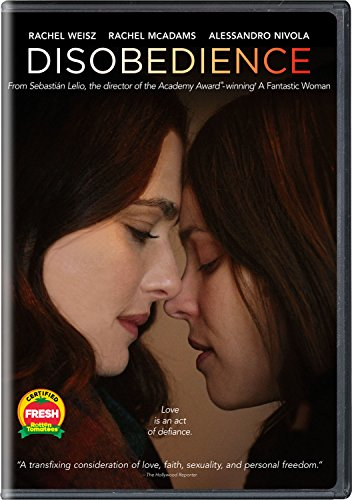 DVD Cover Image for the film Disobedience