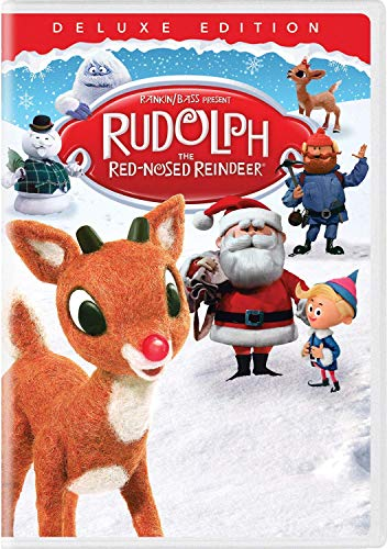 Cover Art for Rudolph the Red Nosed Reindeer