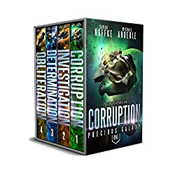 Precious Galaxy Boxed Set (Books 1-4): Corruption, Investigation, Determination, Obliteration