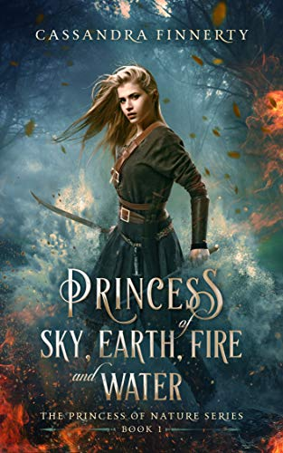 Bargain eBook - Princess of Sky  Earth  Fire and Water