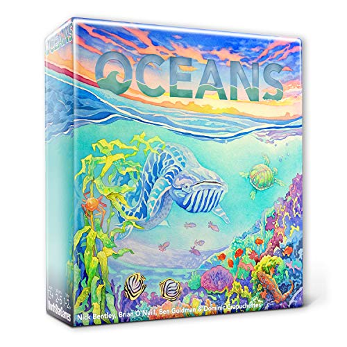 Cover Art shows a stylized underwater scene. Text says Oceans.