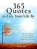 Free eBook - 365 Quotes to Live Your Life By