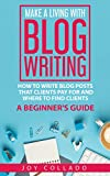 Free eBook - Make a Living With Blog Writing