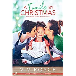 A Family by Christmas (Little Shops on Heart Street Book 1)