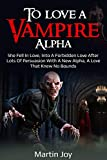Bargain eBook - To love a Vampire Alpha