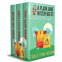 A Plain Jane Mystery Box Set: Books 1-3 Good Clean Murder, Dirty Little Murder, Bright New Murder A Christian Cozy Collection (The Plain Jane Mystery Box Sets Book 1)