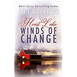 Winds of Change: A Sweet, Inspirational, Small Town, Romantic Suspense Series (Heart Lake Book 1)